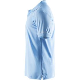 Craft Classic Polo Pique Bluzka z krótkim rękawem Mężczyźni, aqua
